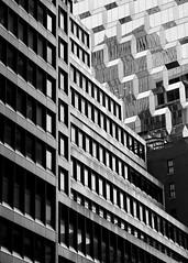 Urban Geometry (Anne Marie Clarke) Tags: urban shiny zigzag newyork nyc 7dwf abstract