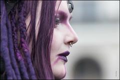 purple coolness (Dieter Gora) Tags: purplebeauty maskenzauber hamburg dietergora