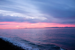 Purple Haze Sunset (Jedifro) Tags: 27mm fuji xt1 pancake purple pink santa barbara ritz carlton bacara prime