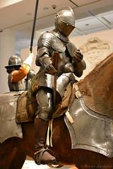 Armour for Man and Horse (Bri_J) Tags: royalarmouries leeds westyorkshire uk museum militarymuseum yorkshire nikon d7200 armour horsearmour italianarmour suitofarmour knightsofstjohnofmalta knight mountedknight