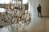 Biography With Chandelier (Trish Mayo) Tags: art guggenheim museum chandelier