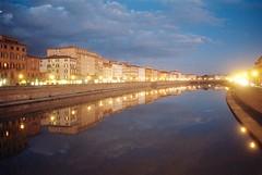 Pisa on 35 MM (michele.palombi) Tags: river arno pisa film 35mm kodak portra 800asa tetenal colortec c41