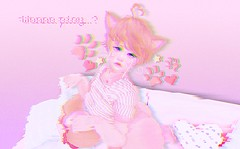 Wanna play? (Cakettes) Tags: secondlife bento catya catwa femboy neko kawaii pink glitch creepy valentine valentinesday cute dicku femboi trap yaoi