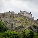 Edinburgh Castle on the hill thumbnail
