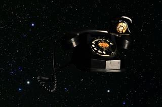 Nobody suspected Major Lugowski's Space Phone had a Moon