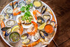 Cardero's - Valentine's Day Menu 2018 (jennchanphotography) Tags: carderos restaurant valentinesday menu food dinner vday valentines coalharbour downtown vancouver jennchanphotography michellelan seafoodplatter seafood shellfish cold platter shrimp mussels clams oysters tuna crab