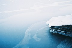 Ice Ice Baby (backmango) Tags: minoltasrt bestoftheday photooftheday picoftheday minimalism minimal art flickr pro rock snow analogue analog ishootfilm filmisnotdead film iceicebaby ice minolta
