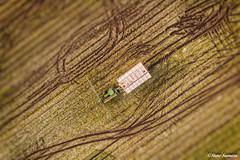 Just Leeks (Steve Samosa Photography) Tags: leeks farming farm farmland tractor aerial aerialview dronecamera drone droneshot topdownview rainford england unitedkingdom gb harvest