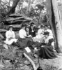 Parsons family picnic group, Georges River, NSW, c.1905. Photographer Unknown. (State Library of New South Wales collection) Tags: statelibraryofnewsouthwales family georgesriver