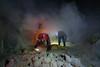 Sulfur miners of Kawah Ijen (pleymalex) Tags: sulfur miners worst job ever asia indonesia kawah ijen mining light medal vulcano volcan