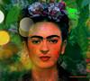 FRIDA´S ABSTRACTION. (Viktor Manuel 990.) Tags: portrait frida abstract abstracto brightcolors coloresbrillantes painting pintura digitalart artedigital textures texturas querétaro méxico victormanuelgómezg