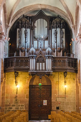 Orgue Rinckenbach-Klem de l'Église Sainte Foy de Sélestat (Zéphyrios) Tags: grérose selestat basrhin alsace grandest nikon d7000 xi roman néoroman gré rose xvii néogothique gothic revival architecture organ orgue bois stfideskirche st fideskirche