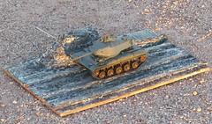 KR's Diorama build (Dulacca.trains) Tags: kymrileymanuel model scalemodel plasticmodel plastickit tank 135 tamiya m41 diorama modeltank modelarmor modelarmour