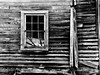 Losing side (hutchphotography2020) Tags: rottenwood sidiing window blackandwhite broken