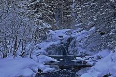 Big Hill Springs amazing edit (John Andersen (JPAndersen images)) Tags: bighillsprings calgaryalberta alberta waterfall winter snow cold ice wonderland
