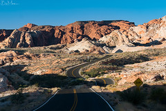 Valley of Fire, Nevada (Bill-Metallinos) Tags: valley of fire nevada road west summer light travel national park state vegas aztec stone rocks