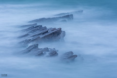 Sunrise Water Flow (Cissa Rego) Tags: peverilpoint swanage jurassiccoast purbecks isleofpurbeck dorset landscape landscapephotography minimalist minimalistphotography seascape seascapephotography sunrise sunrisephotography bluehour longexposure zomei zomeifilters nikon nikonphotographer nikonphotography nikond7100