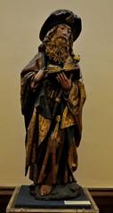 Astorga (León). Museo de los Caminos.Santiago peregrino leyendo, primer tercio siglo XVI; anónimo flamenco. Procede de Turcia (santi abella) Tags: astorga león castillayleón españa museodeloscaminos palacioepiscopaldeastorga