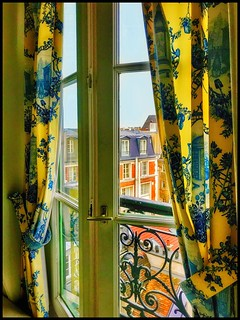Paris window....