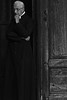 deep in thought... (al-ien) Tags: blackandwhite portrait priest pious clergy pisaitaly ponder religious 911 thoughtful