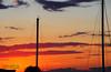 Parking lot sunset (lauren3838 photography) Tags: laurensphotography lauren3838photography landscape nature ilovenature sunset dusk clouds sky birds mast boats sailboats knappsnarrowsmarinainn knappsnarrows easternshore chesapeakebay tilghman tilghmanisland maryland md nikon talbotcounty catchycolorsorange