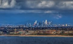 "L.A. From Across the Bay (Michael F. Nyiri) Tags: losangeles cityscape city skyscraper clouds urban california southerncalifornia pacificocean palosverdespeninsulacalifornia ""canonflickraward"
