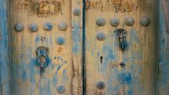 Weathered (Tom Levold (www.levold.de/photosphere)) Tags: fuji fujixpro2 isfahan esfahan abstract abstrakt street door tür