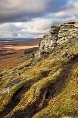 View across Stanage Edge (Chris R Baldock) Tags: green stanageedge stanage derbyshire england nationalpark