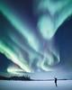 🌎 Yellowknife, Northwest Territories, Canada |  Martina Gebarovska (adventurouslife4us) Tags: snow winter northern lights adventure wanderlust landscape travel explore outdoor nature photography canada
