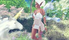 ☽O☾Life☽O☾ (bexhaven) Tags: body hair jewelry outfit pose shape tattootagsarmleg catwa catya cavernaobscura chain choker class dress eden elf ella fantasy jasmin lucy maitreya muggleborn mythical sexyprincess somethingnew vezzo vines white woods
