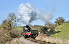 7822 Foxcote Manor. (johncheckley) Tags: d90 uksteam loco railway train