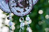Country style wind chime (photo 5) (maytag97) Tags: metal paint chipped rustic maytag97 nikon d750 tamron 150600 150 600 outdoor windchime wind chime tea pot kettle cup chain bead bell outside decoration decorative