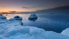 Sunrise (Mika Laitinen) Tags: balticsea canon5dmarkiv europe finland helsinki leendgrad suomi vuosaari beach cloud cold color frozen ice landscape nature outdoors rock sea seascape shore sky sunrise water winter helsingfors uusimaa fi