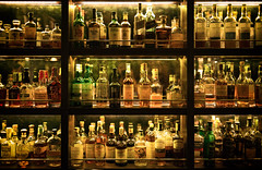 Whiskey Wall (jgottlieb) Tags: whiskey bamboo bar wall mandarin oriental bangkok thailand jazz club night nighttime drinking drink alcohol bottles leica mp typ 240 summilux 35mm fle