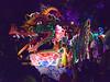 Leviathan (BKHagar *Kim*) Tags: bkhagar mardigras neworleans nola parade float floats leviathan orpheus night outdoor crowd people beads street napoleon uptown 2017