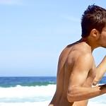 A boy at Leme beach thumbnail