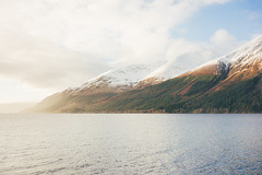 Loch Linnhe & Garbh Bheinn (Matthieu Robinet) Tags: a72 alpha folk glen highlands landscape loch outdoor outlander roadtrip scotland somewhere sonya7ii travel uk wanderlust winter winterscape mountains snow lake escape discover explore delight amazing light sunset rising route fortwilliam leaving gone waterscape relief curves colorful gradient nature natural mirrorless sunny day cold deep vivid impressionism painting