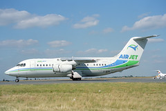 F-GLNI British Aerospace 146-200QC Air Jet (pslg05896) Tags: fglni bae146 airjet cdg lfpg paris roissy