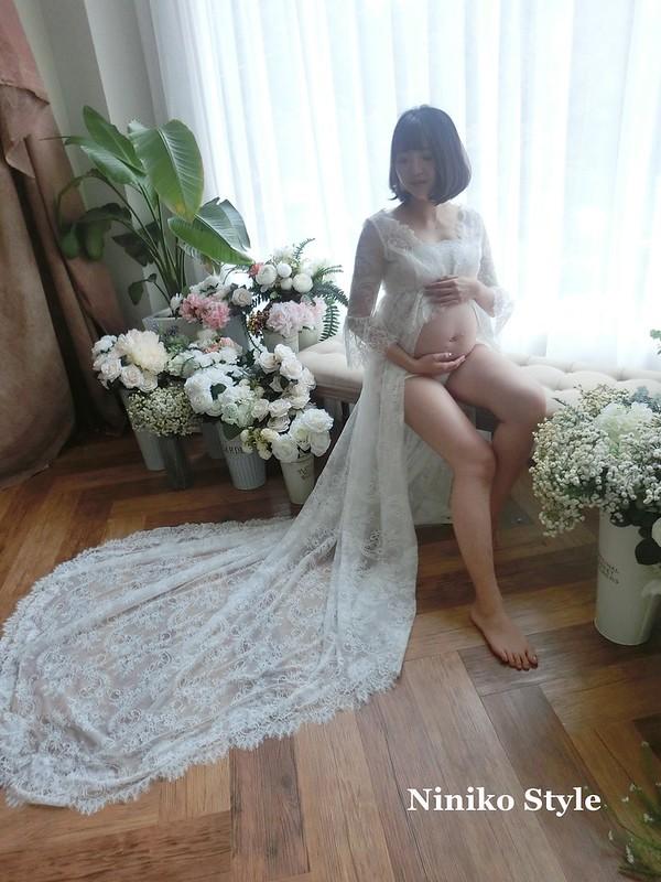 孕婦,寫真,髮型,禮服