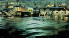 (blazedelacroix) Tags: blazedelacroix rain airport 6 plane 66 shadows