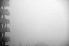 Foggy view (jaume zamorano) Tags: 7dwf blackandwhite blancoynegro blackwhite blackandwhitephotography boira brouillard bw blackandwhitephoto d5500 fog foggy lleida monochrome mist monocromo minimalism nikon noiretblanc nikonistas niebla street streetphotography streetphoto streetphotoblackandwhite streetphotgraphy urban urbana