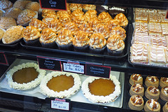 Dessert Anyone? (PDX Bailey) Tags: food dessert pie pumkin chocolate cupcake display caramel cream whipping whip