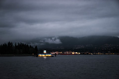 Quick Pit Stop (Rebecca Haranczak) Tags: vancouver travel bay gasstation floatplanes pnw pacificnorthwest nature sony sonya7r sonyalpha winter february gmaster color