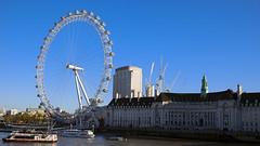 LONDON EYE (Joan Amigó) Tags: london londoneye londres río riu river noria ferriswheel nòria