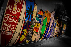 Aloha! (Rabican7) Tags: cahi hawaii island surfing colorful aloha ocean beach honolulu waikiki surfboards