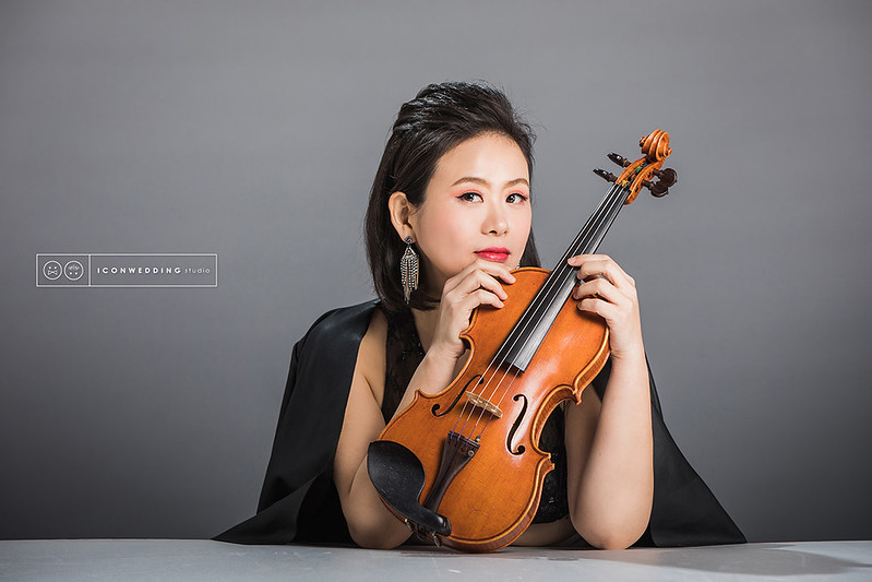 個人寫真,音樂家,小提琴,宣傳,禮服
