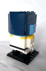 Thrawn (instructions available) (tomvanhaelen) Tags: lego star wars custom brickheadz moc thrawn