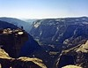 Half Dome, from the top (chrisowenrichards) Tags: film yosemite halfdome