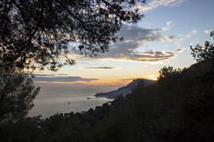 2018 winter on the Riviera [VII] (Olivier So) Tags: france frenchriviera riviera sunset sky clouds roquebrune roquebrunecapmartin