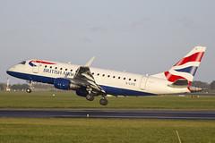 G-LCYE | British Airways | Embraer ERJ-170LR (170-100LR) | CN 17000296 | Built 2009 | DUB/EIDW 15/12/2017 (Mick Planespotter) Tags: glcye british airways embraer erj170lr 170100lr 17000296 2009 dub eidw 15122017 aircraft airport erj170 2017 nik sharpenerpro3 collinstown dublinairport ba flight landing cityflyer express cityflyerexpress